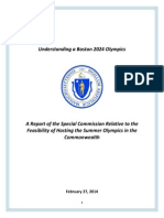 Boston Olympic Commission Report