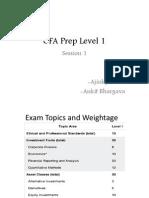 CFA Prep Level 1