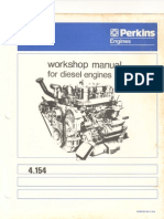 Perkins 4-154 Shop Manual