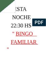 Bingo Oo