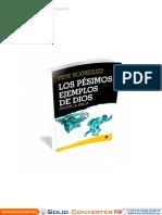 Los Pésimos Ejemplos De Dios Según La Biblia - Pepe Rodriguez