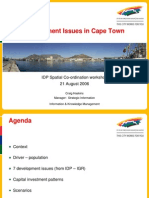 Development Issues in Cape Town