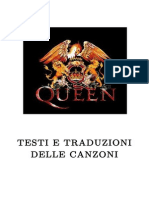 Queen-All Songs Lyrics Ita Eng