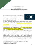 La Cosmologia Di Massimo Confessore