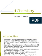 Lecture 2 Water