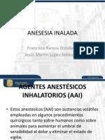 Anestesia Inhalada