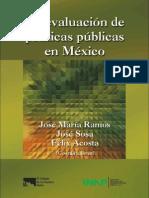 2011. INAP. La evaluación de políticas públicas en México
