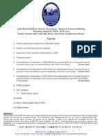 LMU Board Meeting March 6, 2014 Agenda Packet