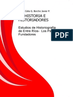 De HISTORIA E HISTORIADORES Estudios de Historiografia de Entre Rios Los Padres Fundadores (1)