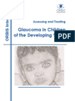 Assessing and Treating Glaucoma in Children of Developing World