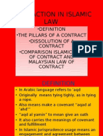 Transaction in Islamic Law