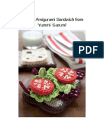 Amigurumi Sandwich From Yummi Yummi