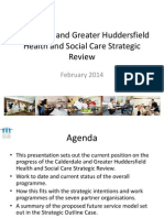 Calderdale and Greater Huddersfield Health and Social Care Strategic Review