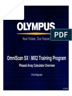 OmniSX MX2 Training 4A PA Calculator Overview