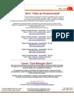 AutoCAD 2014 -Taller de Productividad- Link Youtube