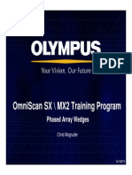 OmniSX MX2 Training 4C Phased Array Wedges