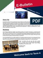 E-Bulletin 28 Feb 2014