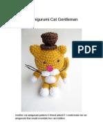 Amigurumi Gentleman Cat