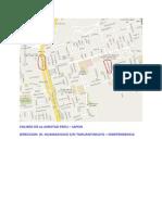 Direccion - Coliseo de La Amistad Peru