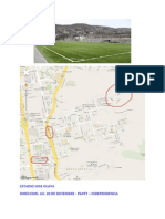 Direccion - Estadio Jose Olaya