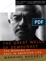 the Great Wells of Democracy the Meaning of Race in American Life