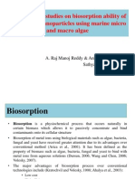 Comparative Studies on Biosorption Ability of Metal Oxide Nanoparticles Using Marine Micro and Macro Algae (1)