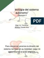 Neurofisiología del sistema autónomo