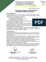Reforma Reglamento Interno de Competencias Fisico Culturismo y Fitness