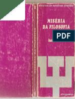 Miseria Da Filosofia II-1