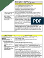 Semi Annual Report - DCCAC FY2014