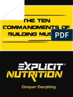 The Ten Commandments of Building Muscle
