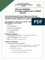 Avis- Formation Certifiante