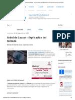 Árbol de Causas - Explicación del Método - Higiene y Seguridad Latinoamérica _ El Portal de Prevención de Riesgos