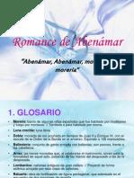 CARLOS PRIETO. Romance de Abenámar