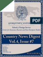CERES News Digest - Week7, Vol.4, Feb.24-28