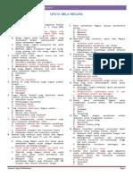 SOAL LATIHAN & JAWABAN - UPAYA BELA NEGARA - PART 2