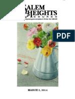 20140302 Print Bulletin