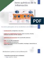 Mediadores químicos de la inflamación -1