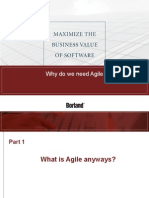 Why Do We Need Agile