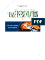 guillain barre syndrome case presentation by sec-nursing 3/B sinco mark