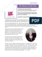 Memory People Page (Vol 4, Issue 2) 2-28-2014