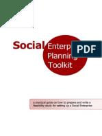 Social Enterprise Planning Toolkit
