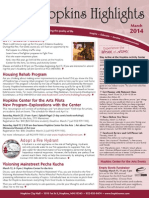 Hopkins Highlights-March 2014