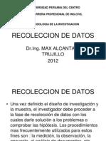 Recoleccion de Datos 10