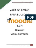 1.9.4 Usuario Administrador Moodle