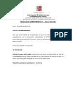 Reordenamiento de Salas de La Corte de Lima