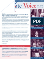 DC Vote Fall 04 Newsletter