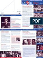 DC Vote Fall 12 Newsletter