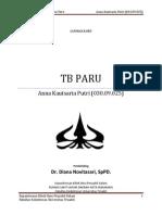 Case I TB Paru