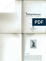 Movimientos Anteriores a la Independencia (Ricardo Sánchez)